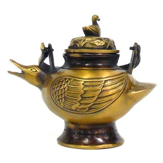 Chinese Bronze Metal Incense Burner