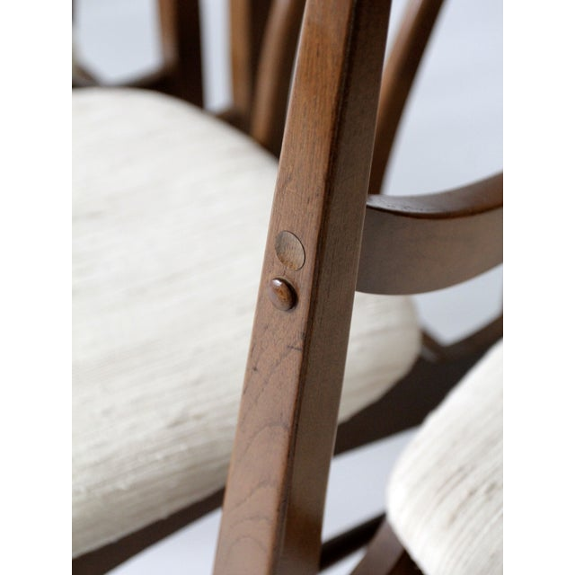 Mid-Century Danish Dining Chairs - Set of 6 - Image 11 of 11