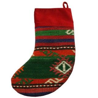 Rug & Relic Merry Kilim Christmas Stocking