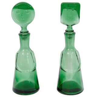 Pair of Decanters by Erik Hoglund