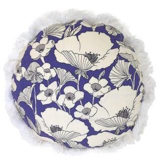 Poppy Print Pillow