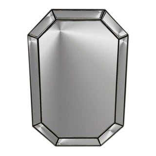 Hexagonal Distressed Mirror