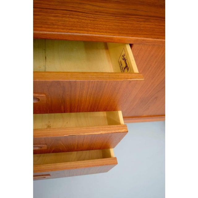 Image of 1960s Danish Teak Room Divider Sideboard