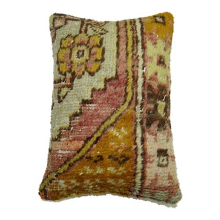 Vintage Anatolian Lumbar Rug Pillow