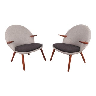 Pair of Kurt Olsen Easy Chairs