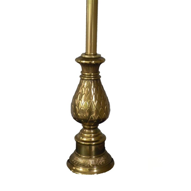 Image of Brass Pineapple Lamp
