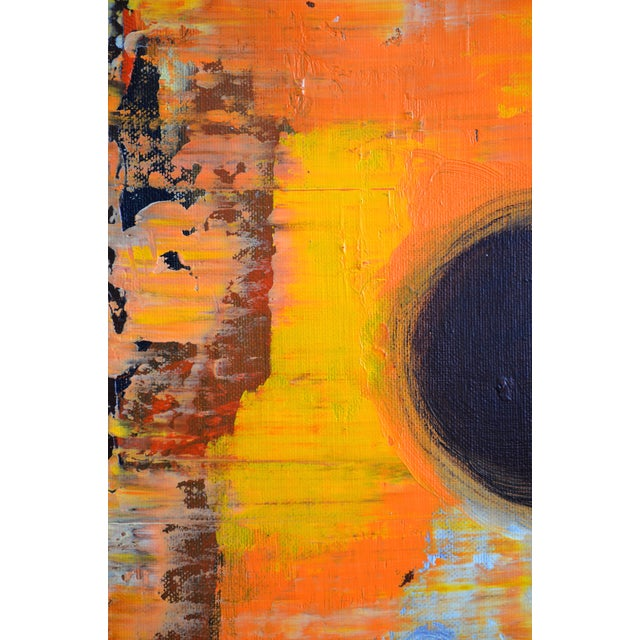 Abstract Painting - Orange - Image 3 of 5