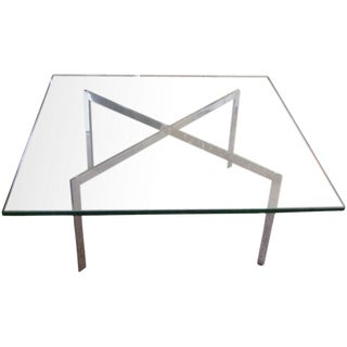 Brueton V Series Coffee Table in Steel
