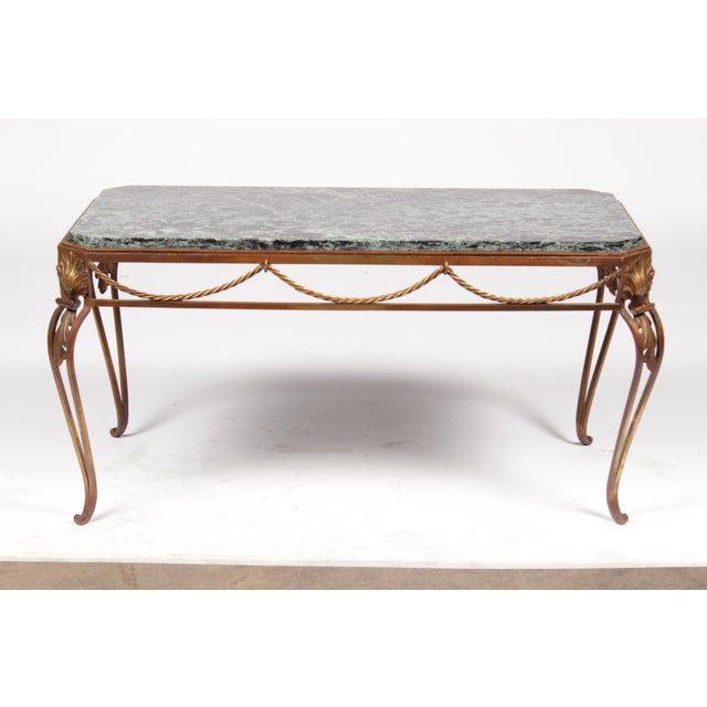 Vintage Italian Style Gold Coffee Table - Image 2 of 7