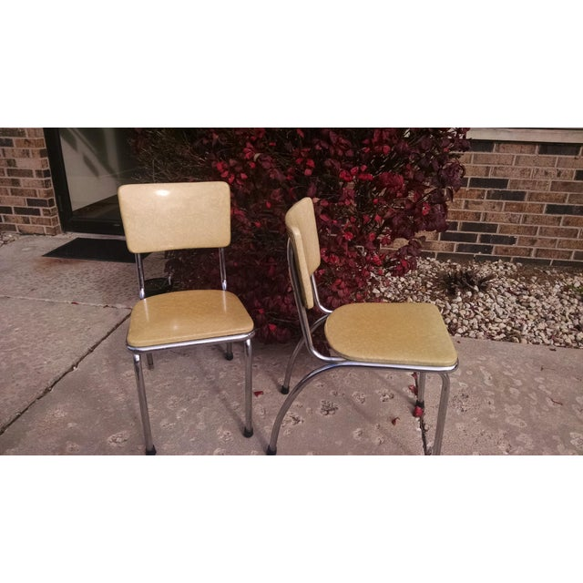 Howell Vintage Chrome Chairs - A Pair - Image 3 of 6