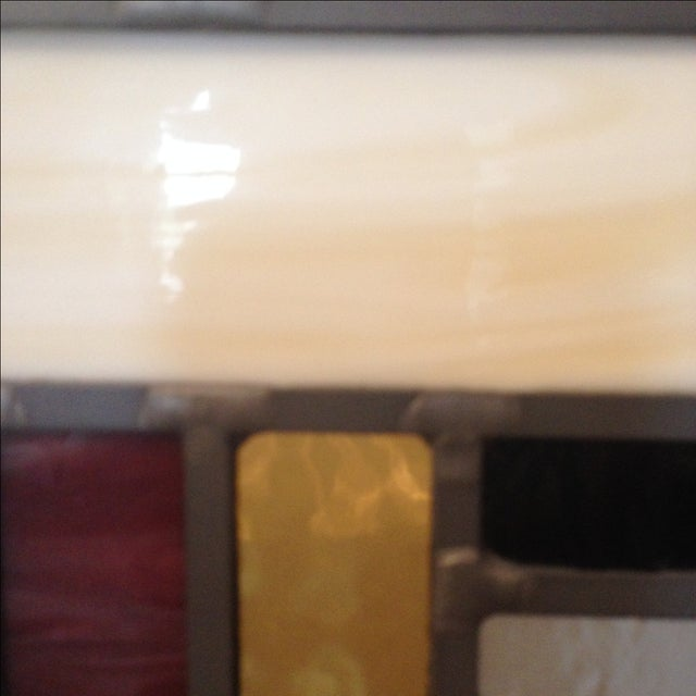 Craftsman Style Stained Glass Panel - Image 10 of 10