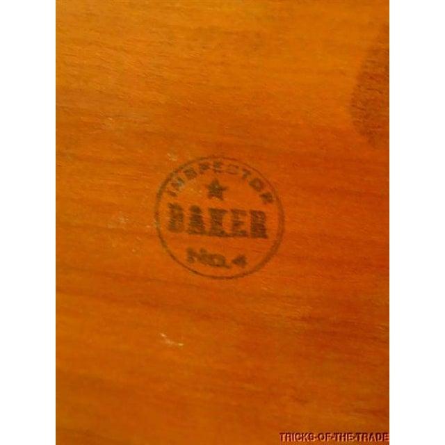 Rare Pair of Baker Far East Mahogany Jardinieres - Image 9 of 9