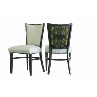 Kaleidoscope Chairs - A Pair