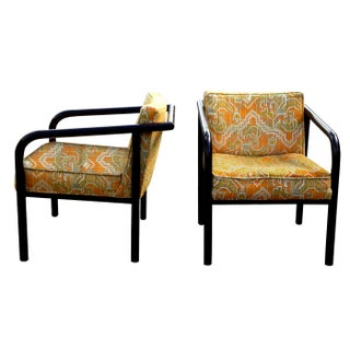 Directional Mid-Century Lounge Chairs - A Pair