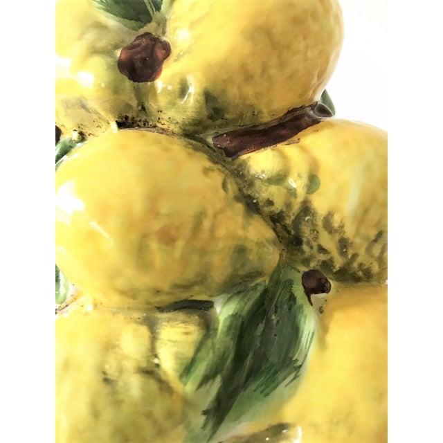 Italian Majolica Lemon Topiary ( 2 Available), Mid-Century - Image 11 of 11