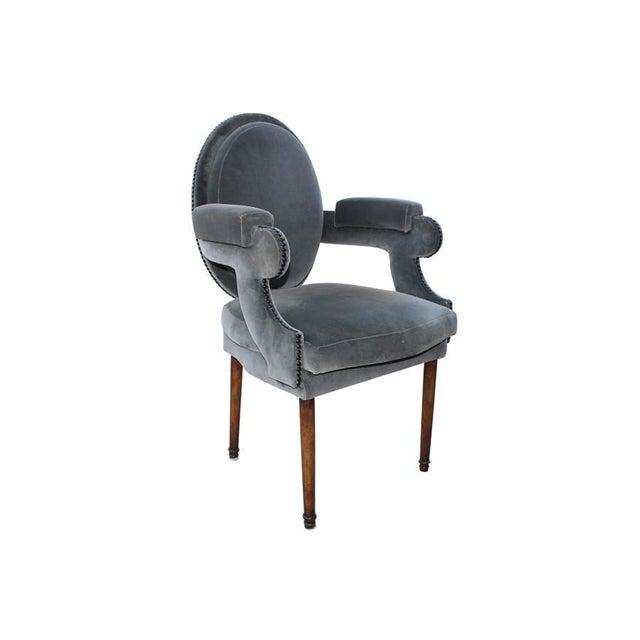 Provence Velvet Arm Chair - Image 2 of 8