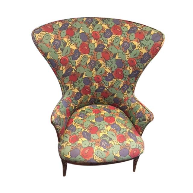 1930 Mahogany Club Chair - Image 1 of 4