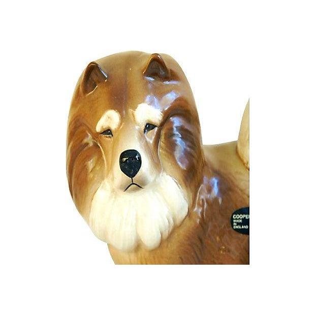 1960s English Coopercraft Husky Dog Figurine - Image 2 of 4