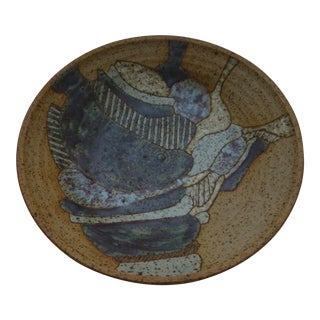 Japanese Studio Art Pottery Bowl