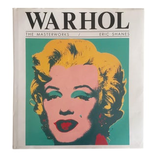"Vintage 1991 "" Warhol the Masterworks "" Pop Art Hardcover Book"