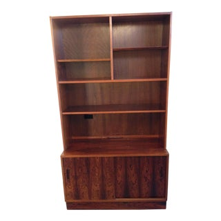 Poul Hundevad Rosewood Bookcase Hutch