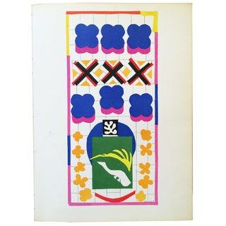Henri Matisse Original Lithograph Poissons Chinois