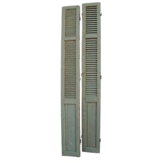 Rustic French Shutters - A Pair