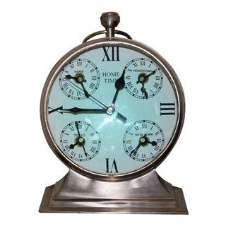 Over Sized Metal Louis XII Desk Clock