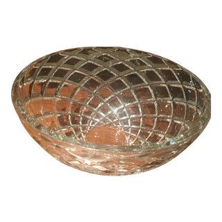 Tiffany Diamond-Cut Crystal Bowl