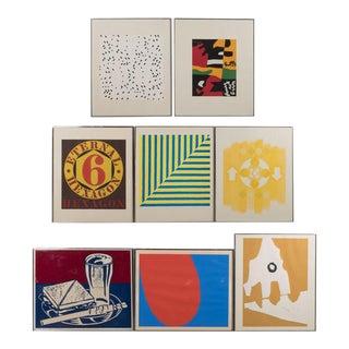 Portfolio of Prints by 8 Important American Artists- Lichtenstein, Stella, etc.
