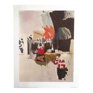 """Robert Rauschenberg """"Summer Rental"""" Offset Lithograph"""