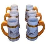 Image of Vintage Siestaware Tiki Mugs - Set of 6