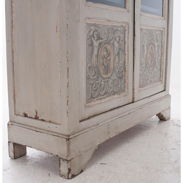 Italian Early 20th Century Painted Bibliotheque - Image 3 of 10