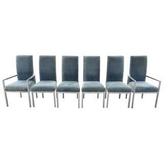 Milo Baughman Dia Chrome Dining Chairs - Set of 6