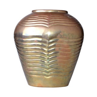 Mid-Century Modern Bronze Vase