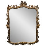 Image of Vintage F.B. Decorative Arts Gilt Mirror