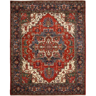 """Traditional Hand-Knotted Rug - 8' 1"""" X 10' 0"""""""