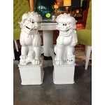 Image of 1800s Antique Fu Dogs - A Pair