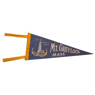 Mt. Greylock Massachusetts Felt Flag