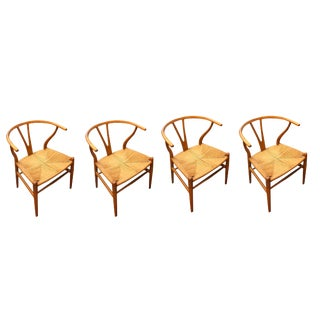 1955 Wishbone Chairs - Set of 4