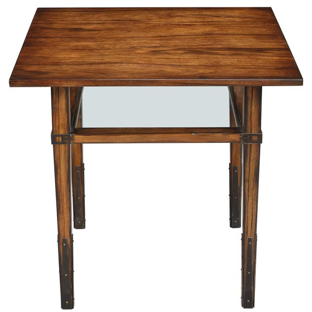 Sarreid Ltd. Taper Square Side Table - Image 3 of 3