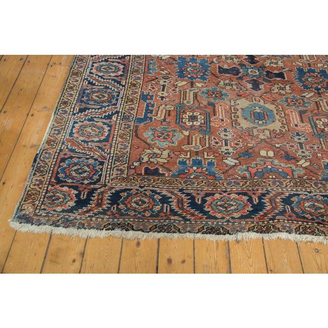 Vintage Heriz Carpet- 7′4″ × 10′1″ - Image 6 of 10