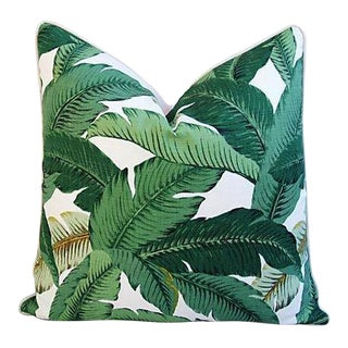 "24"" Custom-Made Tropical Iconic Banana Leaf Feather/Down Pillow"
