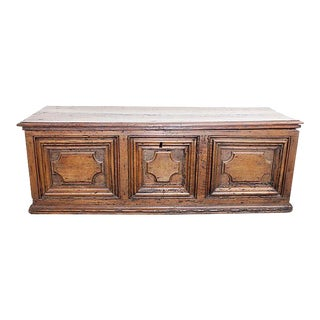 17th Century Italian Walnut Coffer