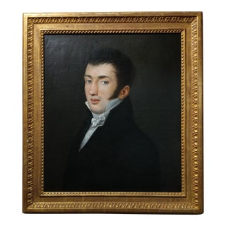 18th Century Portrait Oil Painting