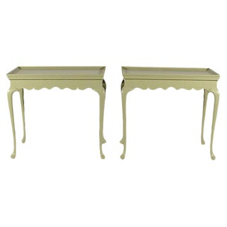 Kittinger Queen Anne End Tables - A Pair