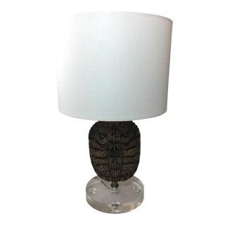 Custom Tortoise Shell Lamp
