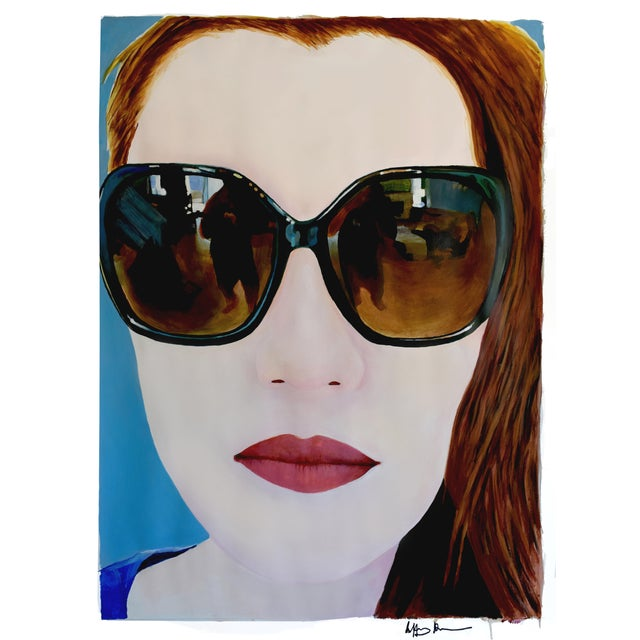 Portrait of a Girl With Sunglasses - Image 1 of 11