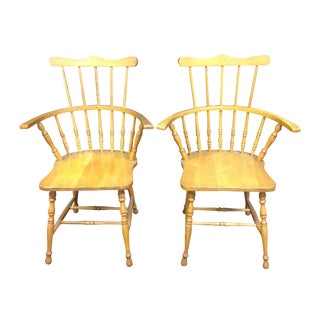 Comback Windsor Chairs - A Pair