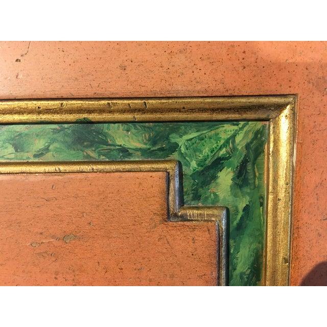 Painted Italian Secretary with Faux Malachite Trim - Image 6 of 10